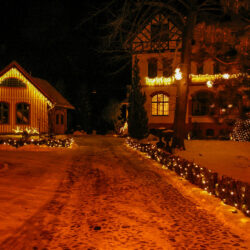 Villa Uhlenhorst im Winter